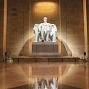 Washington Dc - Lincoln Memorial Poster