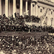 Lincoln's Inauguration, 1865 Poster