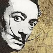 Literally Salvador Dali Poster