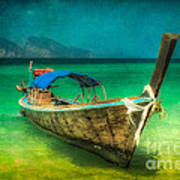 Longboat Thailand Poster