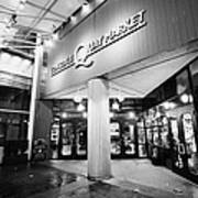lonsdale quay market shopping mall north Vancouver BC Canada Poster by Joe Fox