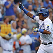 Los Angeles Dodgers V Kansas City Royals Poster