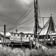 Lowcountry Shrimp Boat Poster