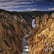 Lower Yellowstone Falls II Poster