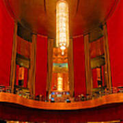 Main Lobby Radio City Music Hall Poster