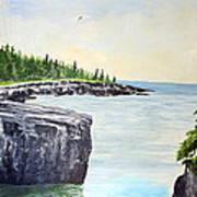 Maine Coast Poster