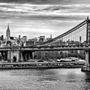 Manhattan Bridge Poster by John Farnan