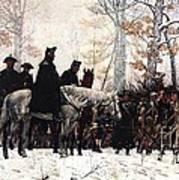 March To Valley Forge Poster
