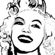 Marilyn What A Beautiful Girl Poster