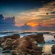 Marineland Beach Sunrise Poster