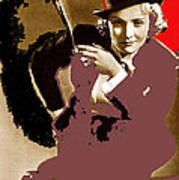 Marlene Dietrich Publicity Photo Morocco 1930-2012 Poster