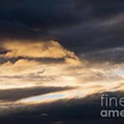 Masses Of Dark Clouds Poster