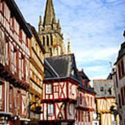 Medieval Vannes France Poster