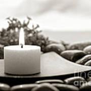 Meditation Candle Poster