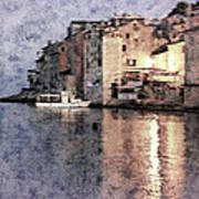 Memory Of Rovinj - Croatia Poster