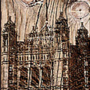 Metal England Castle Poster