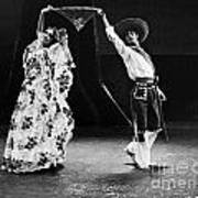 Mexican Folk Dancers Poster