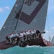 Miami Upwind Poster