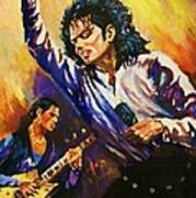 Michael Jackson In Concert Poster