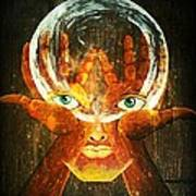 Mind Poster by Paulo Zerbato