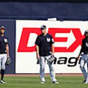 MLB: FEB 20 Spring Training - Yankees Workout Poster