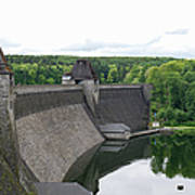 Mohne Dam Wide View Poster