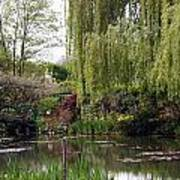 Monets Garden Poster