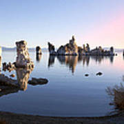 Mono Lake In First Light Poster