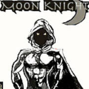 Moon Knight The White Knight  Poster