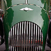 Morgan Plus 4 Grill And Hood Poster