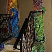 Mosaic Doorway Poster by Charles Lucas
