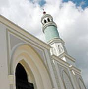mosque in Tarakan Indonesia Poster