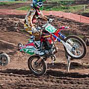Motocross Rider Poster