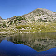 Mountain And Lake Poster