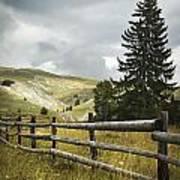 Mountain Landscape Poster by Jelena Jovanovic