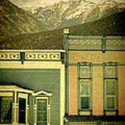 Mountain Town Poster