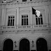 Municipalidad De Santiago City Hall Building Chile Poster