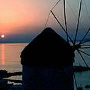 Mykonos Island Greece Poster