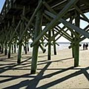 Myrtle Beach Pier Poster