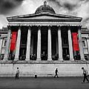 National Gallery London Poster by Ed Pettitt