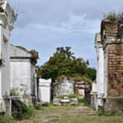 New Orleans Lafayette Cemetery Poster