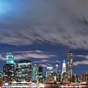 New York City Manhattan Panorama  Poster