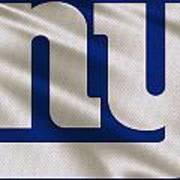New York Giants Uniform Poster