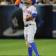 New York Mets V New York Yankees Poster