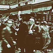 New York Stock Exchange 1963 Poster