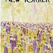 New Yorker June 2nd 1975 Poster