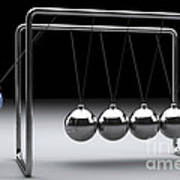 Newtons Cradle Poster