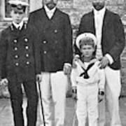 Nicholas II & George V, 1909 Poster