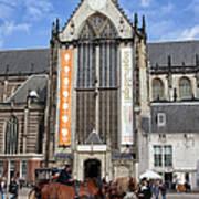 Nieuwe Kerk In Amsterdam Poster