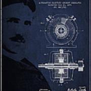 Nikola Tesla Patent From 1891 Poster